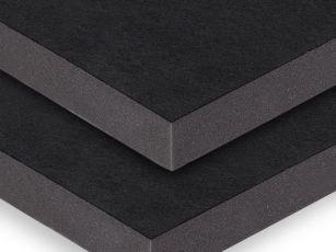 Akustikplatte mit robuster textiler Oberfläche
