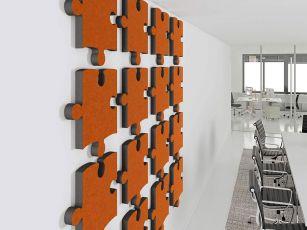 Design Akustikabsorber Puzzle