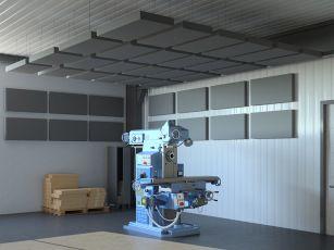 Akustik Set Square Industry