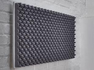 Premium Schallabsorber mit Noppenprofil