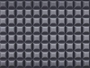 Duromer-Spezial-Akustikschaumstoff mit Trapezprofil