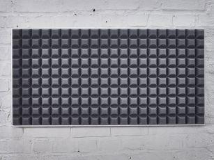 Schallabsorber mit modernem Trapezprofil