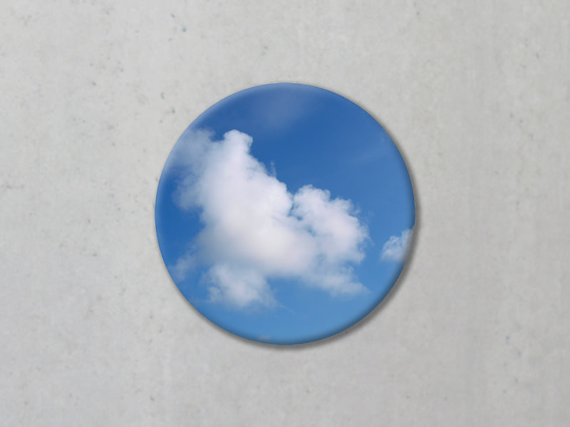 Akustikbilder mit Fotomotiv Kreis