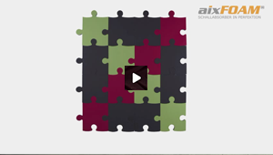 Design Akustik Absorber - Puzzle (SH006)