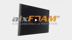Akustik Absorber mit farbiger Textil-Oberfläche - Rechteck (SH006)