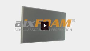 Akustikplatten mit planer Oberfläche (SH001)