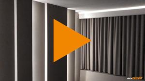 Elektrischer Kinovorhang