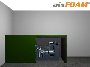 schalld mmmatten mit glatter oberfl che sh0011. Black Bedroom Furniture Sets. Home Design Ideas