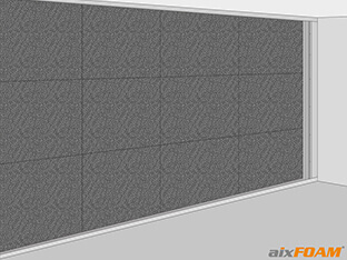 Rahmenkonstruktion aus Wandprofilen