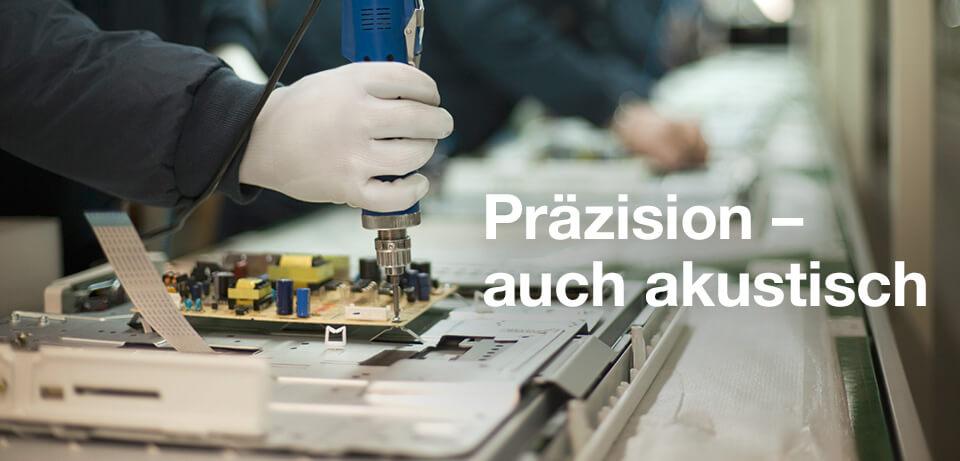 Lärmdämmung im Gerätebau