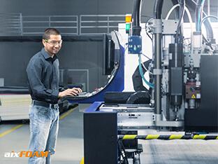 La qualité est cruciale dans la fabrication des absorbeurs de bruit – c'est le seul moyen pour que le matériau acoustique développe tout son potentiel.