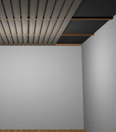 Schalldämmung einer Wand mit Vorsatzschale