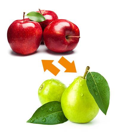 Vergleich von Basotect und aixFOAM - Äpfel mit Birnen