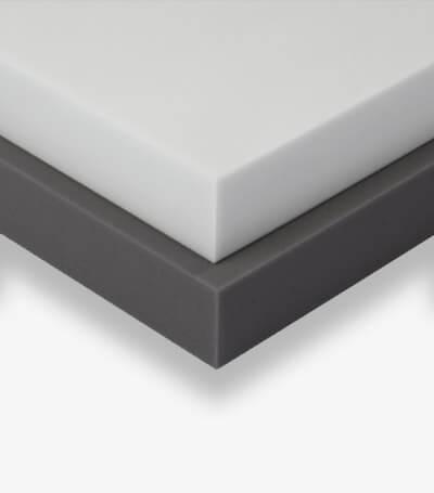 Duromerer Schallabsorber mit planer Oberfläche