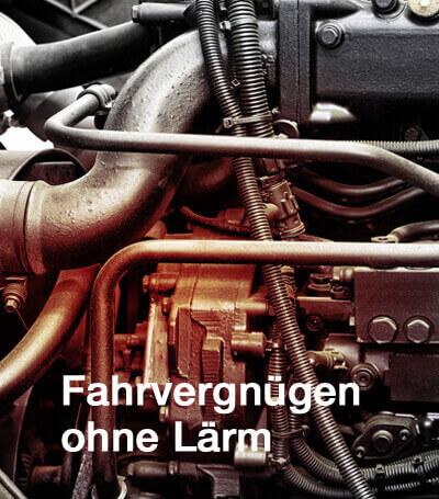 Akustikelemente für Fahrzeuge - reduzieren der Motor- und Fahrgeräusche