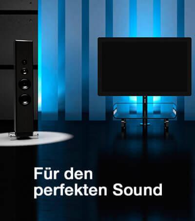 Un son optimal pour les home cinémas, les studios hi-fi ou les salles de musique.