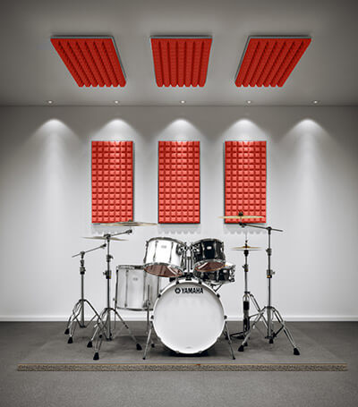 Schlagzeug-Dämmset